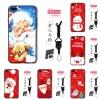 เคส iPhone 7 (4.7 นิ้ว) พลาสติก TPU สกรีนลายคริสมาสต์ ราคาถูก (สายคล้องและแหวนแล้วแต่ร้านทางจีนจะแถมมาหรือไม่นะครับ)