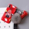 เคส iPhone X พลาสติก TPU ลายน้องหมาสุดแนว พร้อมสายคล้องมือและกระเป๋าเก็บสายหูฟัง ราคาถูก