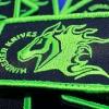 RHK Green/Black Patch