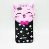 เคสIphone5/5se/5s การ์ตูนหัวโตแมว