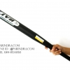 ไม้เบสบอล สีดำด้าน ขนาด 25 นิ้ว อุปกรณ์ออกกำลังกาย และ ป้องกันตัวในเวลาเดียวกัน