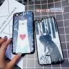 เคส iPhone 8 Plus พลาสติก TPU ลายหมีน้อย จิงจอกน้อย กลางหิมะ ราคาถูก