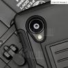 เคส LG Nexus 5 เคสกันกระแทก สวยๆ ดุๆ เท่ๆ แนวถึกๆ อึดๆ แนวทหาร เดินป่า ผจญภัย adventure เคสแยกประกอบ 3 ชิ้น ชั้นในเป็นยางซิลิโคนกันกระแทก ครอบด้วยแผ่นพลาสติกอีก1 ชั้น กาง-หุบขาตั้งได้ มีปลอกฝาหน้าแบบสวมสไลด์ ใช้หนีบเข็มขัดเพื่อพกพาได้