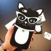 เคส iPhone 6s / iPhone 6 (4.7 นิ้ว) ซิลิโคน TPU 3 มิติ แมวตาเฉี่ยวสุดเซ็กซี่น่ารักมากๆ ราคาถูก