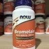 # วิตามินย่อยอาหาร # Now Foods, Bromelain, 500 mg, 60 Vcaps