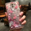 เคส Huawei GR5 (2017) พลาสติกกากเพชรฟลามิงโกน่ารักมาก ราคาถูก