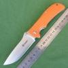 มีดพับ Ganzo กานโซ่ รุ่น G723 OR สีส้มแสด หนาถึก แข็งแกร่ง ของแท้ 100%