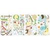 สติ๊กเกอร์ติดผนังห้องเด็กลาย ตัวอักษรสัตว์น้อย Roommate Sticker -- Animal Alphabet