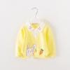 เสื้อแขนยาวลายกระต่ายสีเหลือง แพ็ค 3 ชิ้น [size 6m-2y-3y]