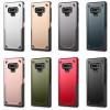 เคส Samsung Note 9 เคสกันกระแทก 2 ชิ้น ด้านในเป็นซิลิโคนสีดำ ด้านนอกพลาสติกเคลือบเงาโลหะเมทัลลิค ราคาถูก