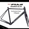 เฟรมจักรยานเสือหมอบ Fuji ROUBAIX ELITE FRAME เฟรมอลูท้อป ตะเกียบคาร์บอน 2018
