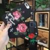 เคสซัมซุง J7(2016)tpuดอกกุหลาบพิมพ์เส้นนูนพร้อมสายคล้อง