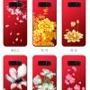 เคส Samsung Note 8 ซิลิโคนลายดอกไม้ พร้อมสายล้องสวยมากๆ ราคาถูก