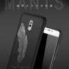 เคส Samsung J7+ (J7 Plus) พลาสติก TPU สีพื้นสกีนลาย หรูหรา สวยงาม ควรรมีติดไว้ ราคาถูก