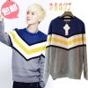 เสื้อไหมพรมกันหนาว แบบ Luhan