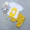 เสื้อ+กางเกง สีเหลือง แพ็ค 4 ชุด ไซส์ 70-80-90-100 (เหมาะสำหรับ 6ด.-4ปี)