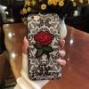 เคส tpu ลายลูกไม้ปักดอกกุหลาบ ไอโฟน 7plus 5.5 นิ้ว (ใช้ภาพรุ่นอื่นแทน)