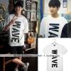 เสื้อยืด WAVE แบบ Chanyeol