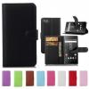 เคส Sony Xperia Z5 Compact แบบหนังเทียมฝาพับสามารถตั้งได้ สีสันสดใส ราคาถูก