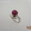 แหวนเงินทับทิม(Silver ring ruby)