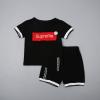เสื้อ+กางเกง สีดำ แพ็ค 4 ชุด ไซส์ S-M-L-XL