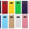 เคส Samsung Note 8 พลาสติกสีพื้นเรียบหรู ดูดี ราคาถูก