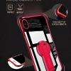 เคส iPhone X ซิลิโคนเงางาม ขอบสีสันสดใส สามารถตั้งได้ ราคาถูก