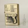ไฟแช็คน้ำมันลาย ปืนพก Walther P99 9mm Parabellum ปี 1996 คลาสสิก