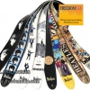 "สายสะพาย Planet Waves Vinyl 2.5"" Beatles Guitar Strap"