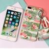 เคส iPhone 6 / 6s (4.7 นิ้ว) พลาสติก TPU ลายนกฟลามิงโกน่ารักมากๆ พร้อมสายคล้องมือและกระเป๋าเก็บสายหูฟัง ราคาถูก