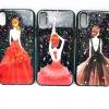 Iphone X เคสกากเพชรพิมพ์นูน4 มิติลายเจ้าหญิง