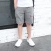 กางเกงขาสามส่วนสีเทาแต่งตัวหนังสือสีแดง [size 4y-5y]