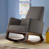 เก้าอี้โยกให้นมคุณแม่ลูกอ่อน Easy Resting Rocking Chair