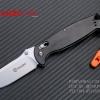 มีดพับ Ganzo รุ่น G7412-WD2-WS ด้ามไม้สีดำ ของแท้ 100%
