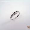 แหวนเงินไวท์โทปาซ (Silver ring white topaz)