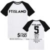 เสื้อยืดแต่งแขน FT Island 5 - GO