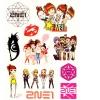แทททู 2NE1 (เซต 5 แผ่น)