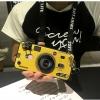 เคส OPPO F5 / F5 Youth / F5 6GB ซิลิโคนรูปกล้องถ่ายรูปสุดเท่ ตรงเลนส์สามารถยืดออกมาตั้งได้ พร้อมสายคล้อง ราคาถูก