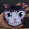 กระเป๋าใส่เหรียญ น่ารัก ขนาดกลาง แมวน้อย 2