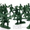 โมเดลทหารจิ๋ว สีเขียวทหาร
