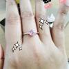Review แหวนพิงค์ซัฟไฟร์ Silver ring pink sapphire