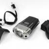 ไฟหน้า RAYPAL ชาร์ต USB ,RPL-2273 สีดำ