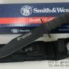 มีดเดินป่าใบตาย Smith&Wesson SEARCH AND RESCUE CKSUR6 ทรงกรูข่า (OEM )