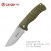 มีดพับ Ganzo กานโซ่ รุ่น G722 GR สีเขียวแก่ หนาถึก แข็งแกร่ง ของแท้ 100%