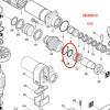 โอริง เครื่องสกัด มากีต้า Makita รุ่น HM0810, HM810, HM 0810T #33 (แท้-สินค้าไม่มีในสต้อก)
