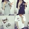 เสื้อยืด (T-Shirt) ลายน้องแมว EXO (เมมเบอร์)