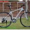 จักรยานไฮบริด TRINX เกียร์ 24 สปีด 700C Lockout โช้ค เฟรมอลูมิเนียม,R600