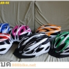 หมวกจักรยานมีไฟ X-FOX ,LED-02 (Inmold)