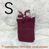 K7046 : สีแดงเข้ม Size S