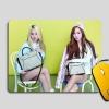 แผ่นรองเม้าส์ Jessica+Krystal